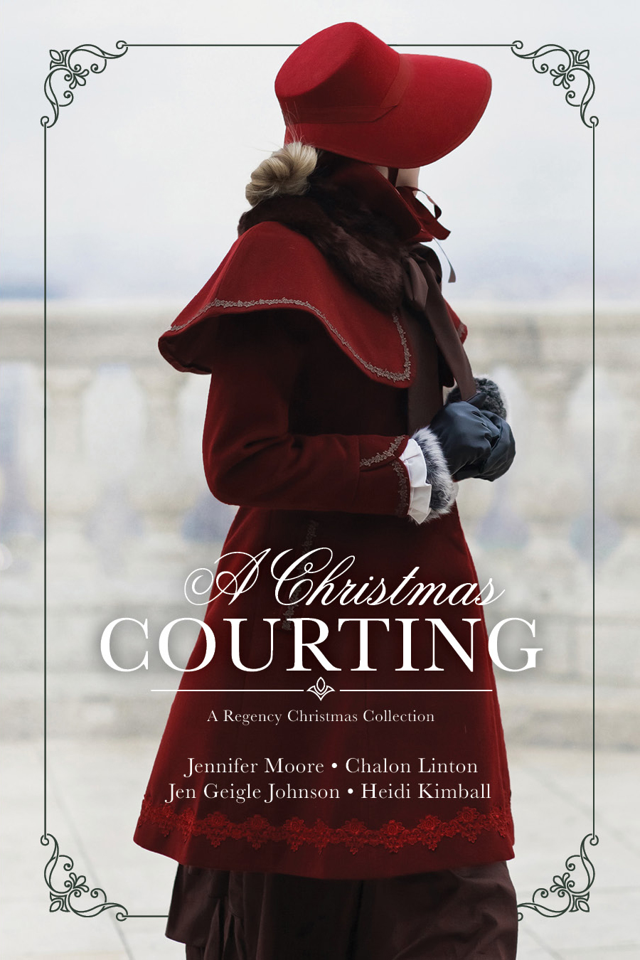 A Christmas Courting COVER